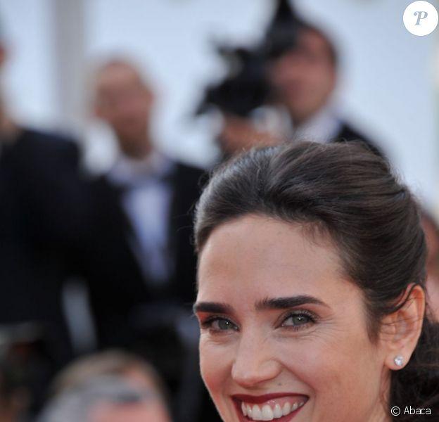 Jennifer Connelly pour la présentation d'Il était une fois en Amérique à Cannes, le 18 mai 2012.