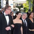 Paul Bettany, Jennifer Connelly, Robert De Niro, Grace Hightower et James Woods pour la présentation d' Il était une fois en Amérique  à Cannes, le 18 mai 2012.