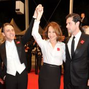 Cannes 2012 : Nathalie Baye devance avec grâce une Petra Nemcova scintillante
