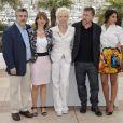 Tim Roth et Leïla Bekhti, président du jury et jurée de la sélection Un Certain Regard au Festival de Cannes, ont découvert le film  Laurence Anyways  du jeune Canadien Xavier Dolan samedi 19 mai 2012.