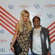 Paris Hilton avec le milliardaire Jawed Fiyaz pour le lancement de sa nouvelle boisson XB au Vip Room de Cannes