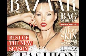 Kate Moss : Sublime, pleine de plumes, face à Terry Richardson