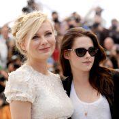 Cannes 2012 : Kirsten Dunst romantique, au côté d'une Kristen Stewart rock