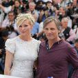 Kirsten Stewart et Viggo Mortensen lors du photocall du film Sur la route lors du Festival de Cannes le 23 mai 2012