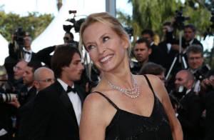 Cannes 2012 : Estelle Lefébure, radieuse et pétillante à 46 ans