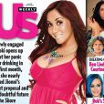 Couverture de  Us Weekly  avec Snooki qui dévoile son ventre rond, mars 2012.