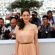 Marion Cotillard, représentante de l'élégance française au Festival de Cannes 2012.