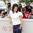 Audrey Tautou, représentante de l'élégance française au Festival de Cannes 2012.
