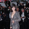 Mélanie Doutey, représentante de l'élégance française au Festival de Cannes 2012.