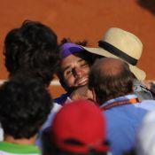 Roland-Garros : Nolwenn Leroy en extase devant Arnaud Clément, son 'Hitchcock' !