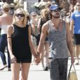 Sharon Stone et son nouvel amoureux Martin Mica à Venice Beach, à Los Angeles le 29 mai 2012