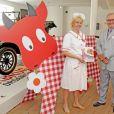 """Le prince consort Henrik de Danemark à l'inauguration de l'exposition """"la cuisine danoise moderne"""" le 24 mai 2012"""