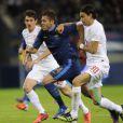 Jérémy Ménez lors de la victoire de l'équipe de France face à la Serbie (2-0) le 31 mai 2012 à Reims