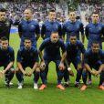 L'équipe de France lors de sa victoire face à la Serbie (2-0) le 31 mai 2012 à Reims