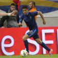 Hatem Ben Arfa lors de la victoire de l'équipe de France face à la Serbie (2-0) le 31 mai 2012 à Reims