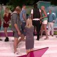 Nadège et Thomas font leur entrée dans Secret Story 6, vendredi 1er juin 2012, sur TF1
