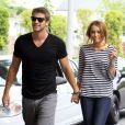 Miley Cyrus et Liam Hemsworth à Los Angeles le 8 juin 2010