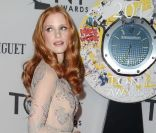 Jessica Chastain à la 66e cérémonie des Tony Awards, à New York, le 10 juin 2012.