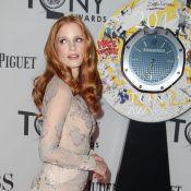 Tony Awards 2012 : Jessica Chastain en transparence et Amanda Seyfried sublime