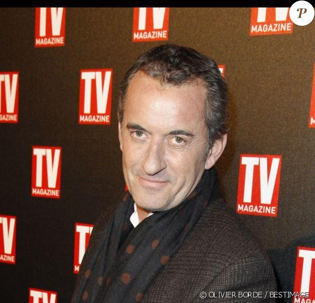 Christophe Dechavanne à Paris, le 18 février 2012.