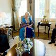 La reine Beatrix des Pays-Bas lors de sa visite officielle en Turquie, le 13 juin 2012.