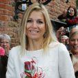 La princesse Maxima a inauguré les nouvelles installations du Musée Sjoel d'Elburg le 13 juin 2012.