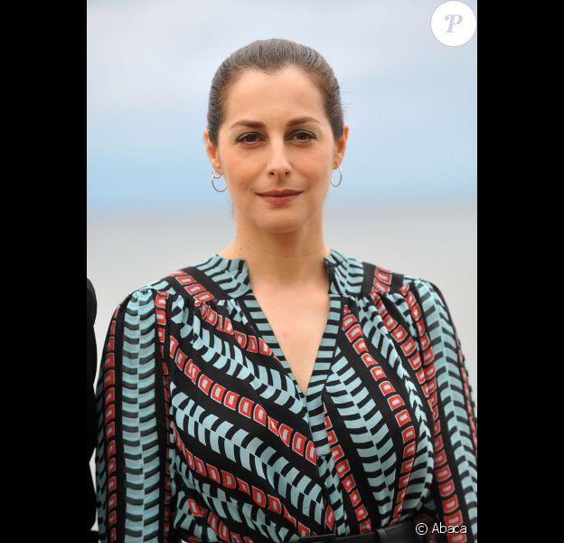 Amira Casar au festival du film romantique de Cabourg