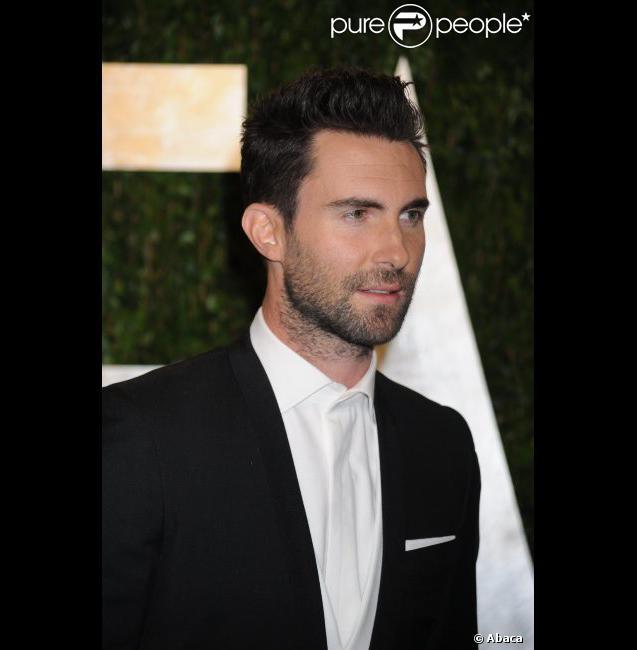 Adam Levine le 26 février 2012 à Los Angeles