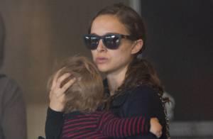 Natalie Portman : Détendue à Paris avec les deux hommes de sa vie