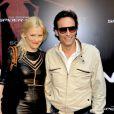 Anthony Delon et Anna Sherbinina lors de l'avant-première de  The Amazing Spider-Man  à Paris, le 20 juin 2012.