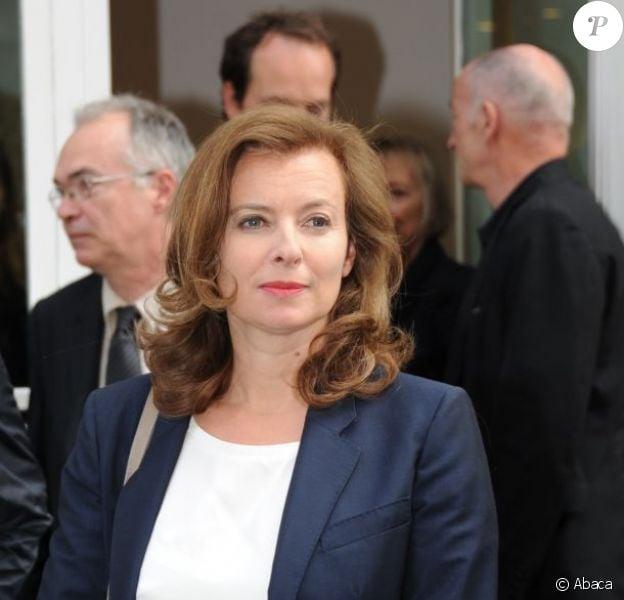 Valérie Trierweiler à Paris, le 16 juin 2012.