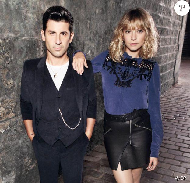 André et Annabelle posent pour la campagne automne-hiver 2012-2013 de The Kooples