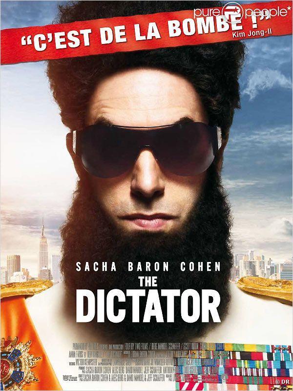 L'affiche du film The Dictator avec Sacha Baron Cohen