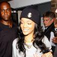 Rihanna à Londres. Le 20 juin 2012.