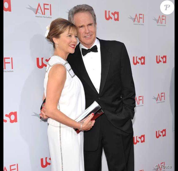 Warren Beatty et Annette Bening