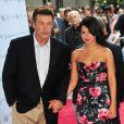 Alec Baldwin et sa fiancée Hilaria le 20 juin 2012 à New York