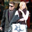 Alec Baldwin et sa fille Ireland à Los Angeles en janvier 2012