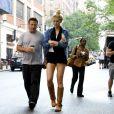 Alec Baldwin et sa fille Ireland vont déjeuner ensemble à New York le 21 juin 2012