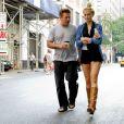 Complices, Alec Baldwin et sa fille Ireland vont déjeuner ensemble à New York le 21 juin 2012