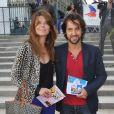 Frédéric Diefenthal et son épouse Gwendoline assistent à la soirée d'ouverture de la Fête des Tuileries, à Paris, le vendredi 22 juin 2012.