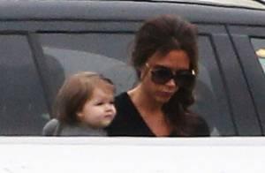 Victoria Beckham surmenée : sa fille Harper la suit partout