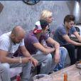 Les habitants de la maison de l'immunité dans la quotidienne de Secret Story 6 le lundi 25 juin 2012 sur TF1