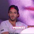 Thomas dans la quotidienne de Secret Story 6 sur TF1 le lundi 25 juin 2012