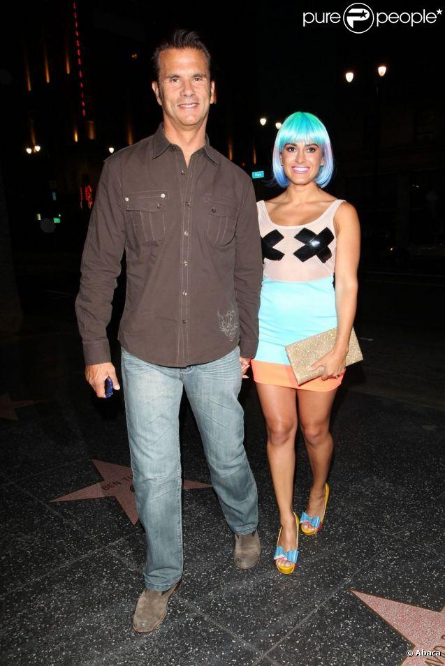 Lorenzo Lamas Et Sa Nouvelle Femme Shawna Craig    Los Angeles Le 26