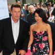 Alec Baldwin et sa fiancée Hilaria Thomas le 20 juin 2012 à New York