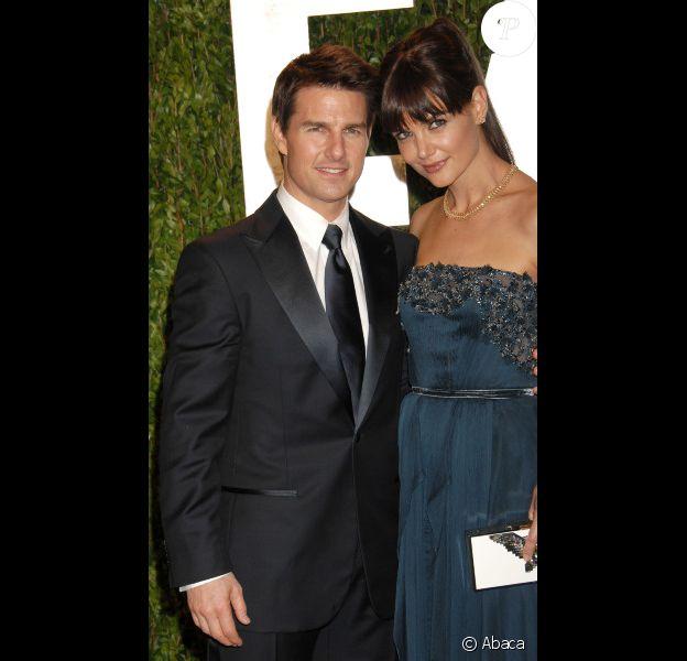 Tom Cruise et Katie Holmes en février 2012 à Los Angeles