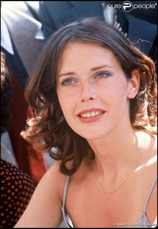 Sylvia Kristel en 1976 à Cannes