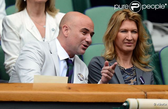 Steffi Graf Andre Agassi Biography