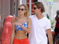 Candice Swanepoel : Amoureuse de son Brésilien, elle prend le soleil à Miami