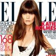 Katie Holmes sur la cover du ELLE US du mois d'août 2012